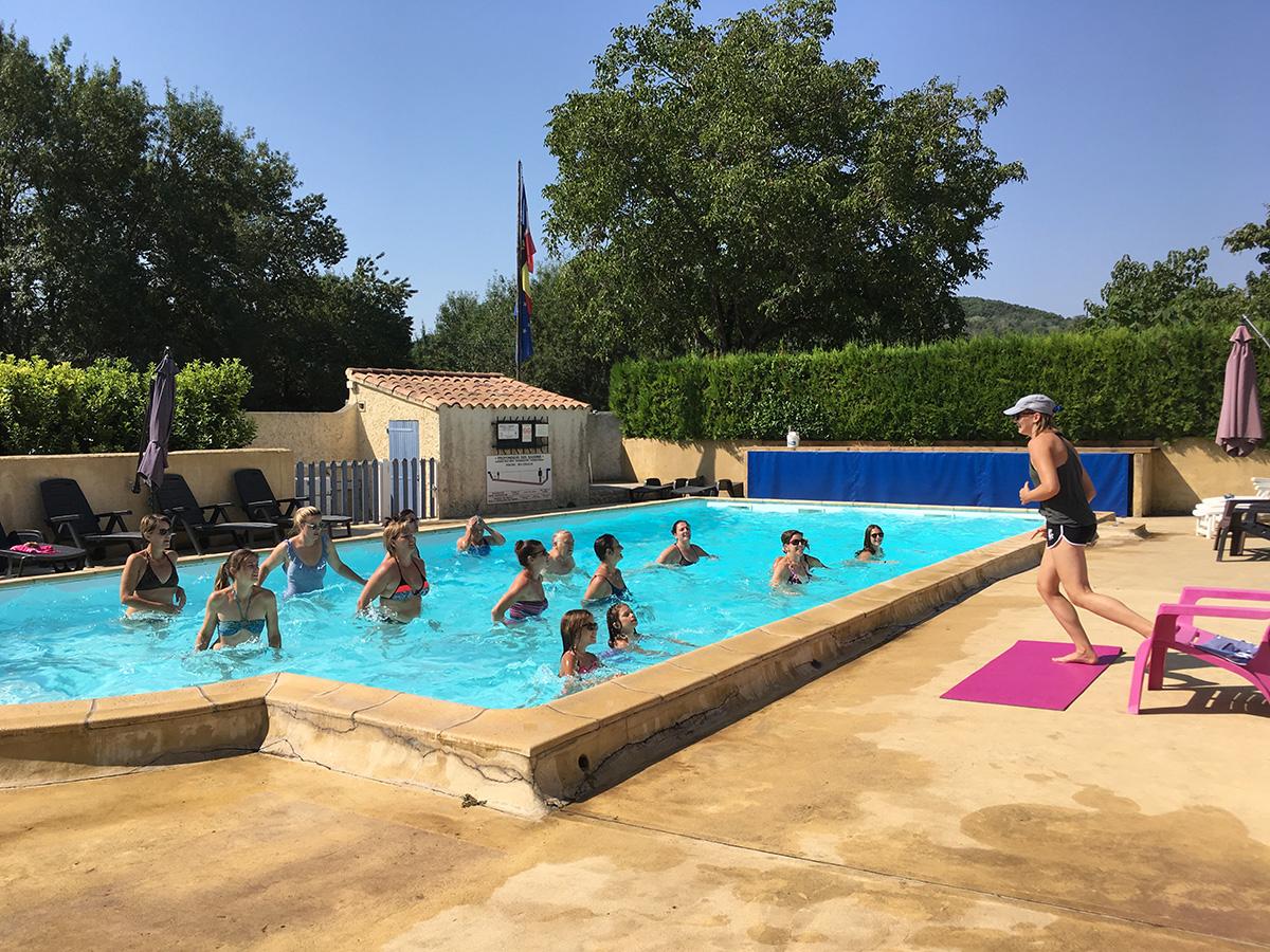 camping avec piscine chauffée ardeche